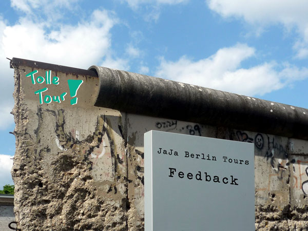 Berliner Mauer - Feedback